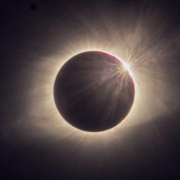 "Eclipse Aug 21, 2017, ""Diamond Ring"" Art | Drew Campbell Photography"