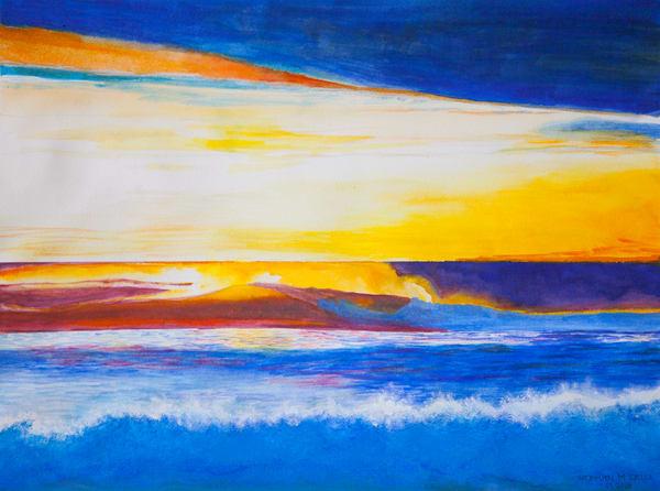 Dawn Patrol  Art | CruzArtz Fine Arts