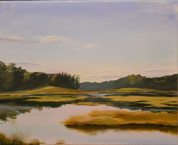 """""""Morning On The Bog"""" Art 