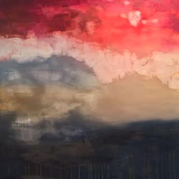 Cranberry Sky by Joanne Coughlin | SavvyArt Market