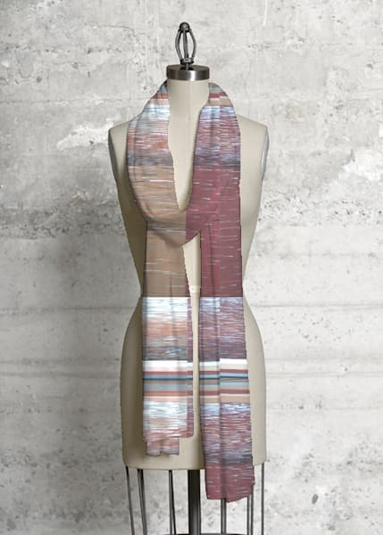 Free Stripe Scarf | Laurie Fields Studio