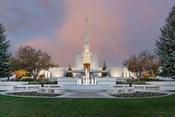 Denver Colorado Temple - A House of Peace