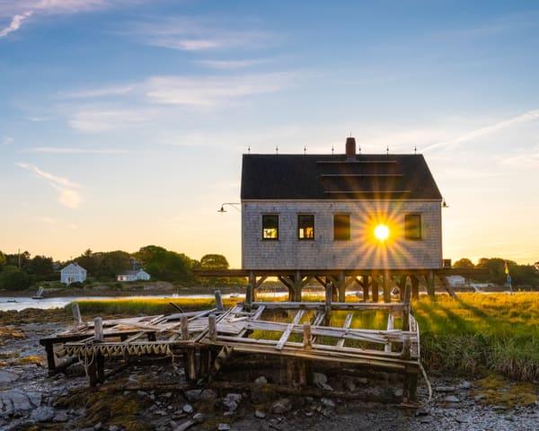 Sunrise at Cape Porpoise | Richard Crable Fine Art Photography