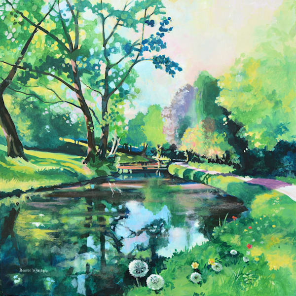 Wales Canal Original Painting