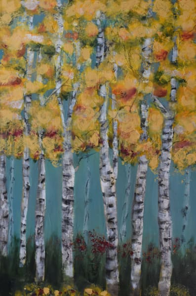 If Aspens Could Sing Art | Connie Rodriguez Fine Art