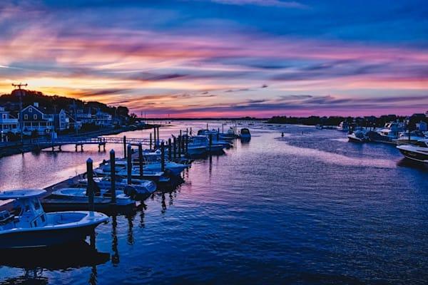 Humarock Marina Sunset