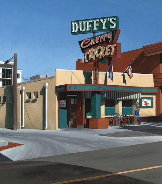 Duffy's Cherry Cricket | Original Oil Painting | Denver, Colorado