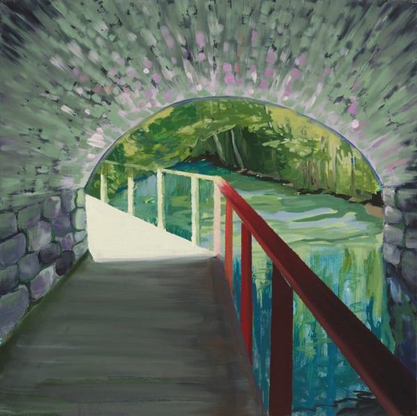 Under The Bridge Before The Station Art | Trine Churchill