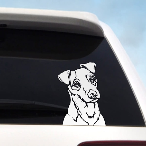 """6"""" Jack Russell Terrier Decal"""