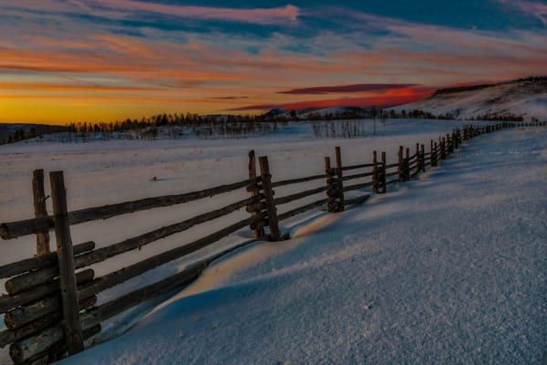 Telluride Sunset Photography Art | Peter Batty Photography