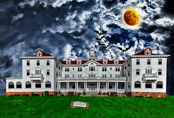 The Stanley Hotel - Conceptual Art Print by Christopher Gatelock