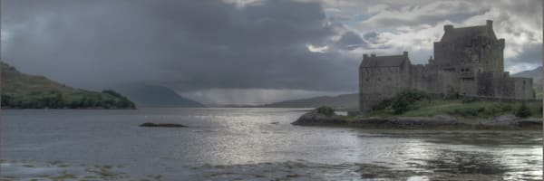Eilean Donan Castle Scotland Art | Drew Campbell Photography