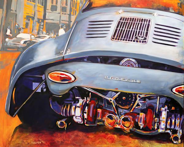 Ultimate Outlaw 356 Porsche Limited Edition Print Art | Telfer Design, Inc.