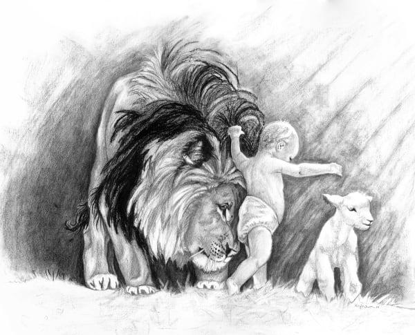 Isaiah 11:6 Art | Kelsey Showalter Studios