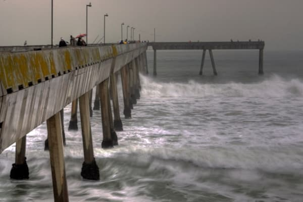 Pacifica Pier Photography Art | Drew Campbell Photography
