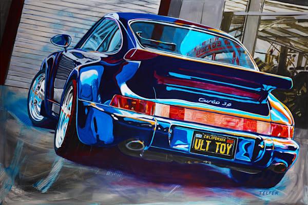 Ultimate Toy 964 Porsche Limited Edition Print Art | Telfer Design, Inc.