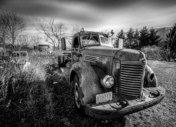 Young Truck bw