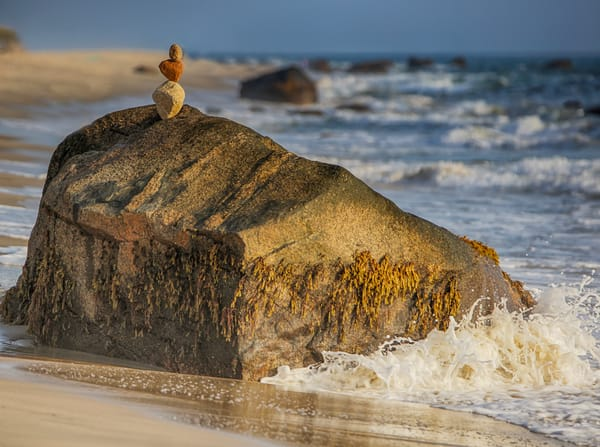 Moshup Beach Solo Cairn