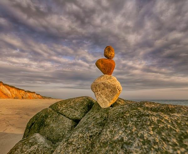 Moshup Beach Lone Cairn