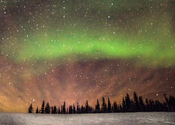 Aurora Borealis Art | Drew Campbell Photography