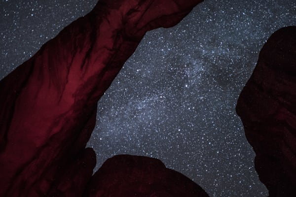 Milky Way Through Broken Arch Art | Drew Campbell Photography