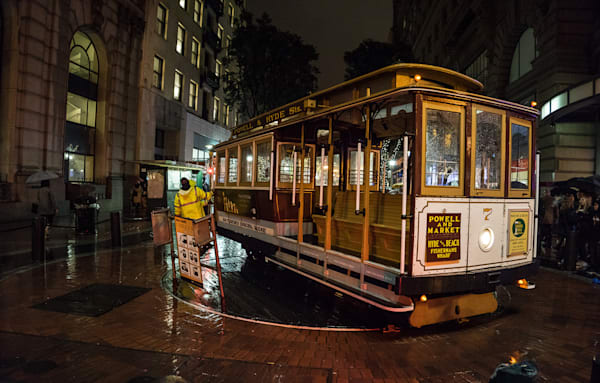 San Francisco Trolly Art | Drew Campbell Photography