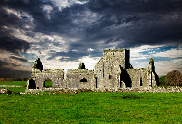 Hore Abbey, Cashel - Art of Ireland Print by Christopher Gatelock