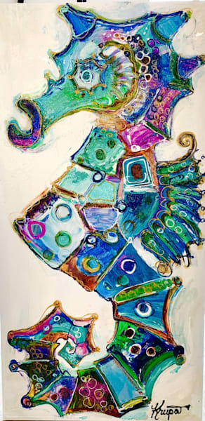 Seahorse Ski Club Art | STACIE KRUPA FINE ART - THE COLLECTION