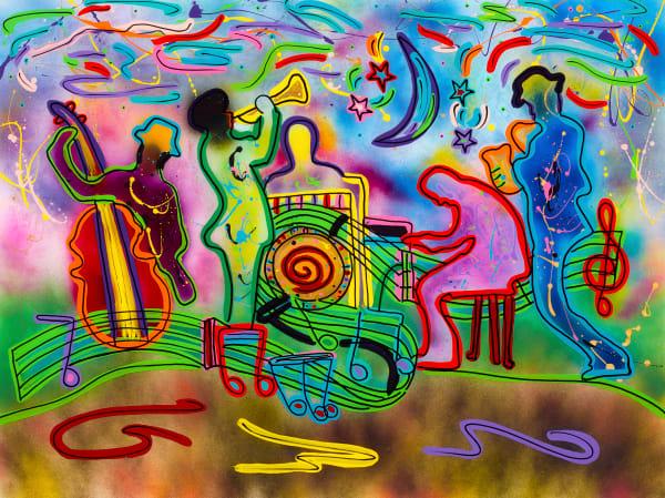 On The Loose | Music Art | JD Shultz Art