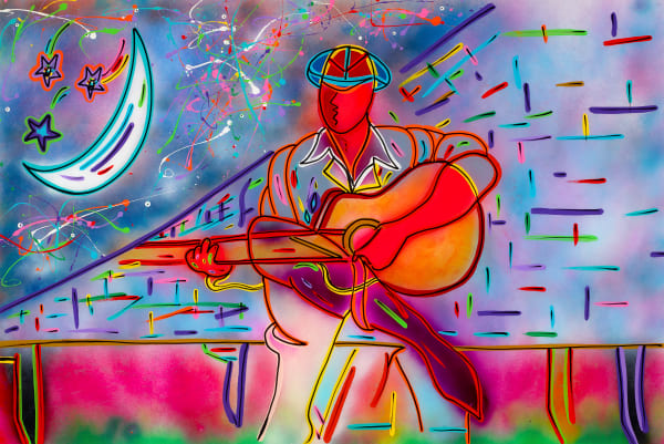 Night Blues | Music Art | JD Shultz Art
