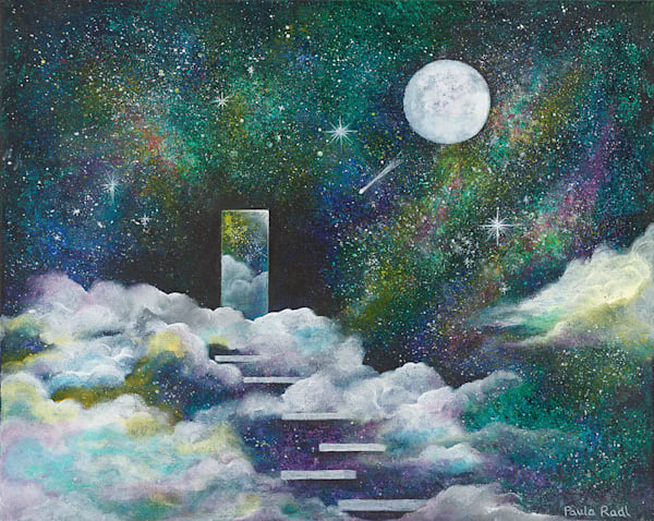 """Journey of Discovery"" fine art print by Paula Radl."