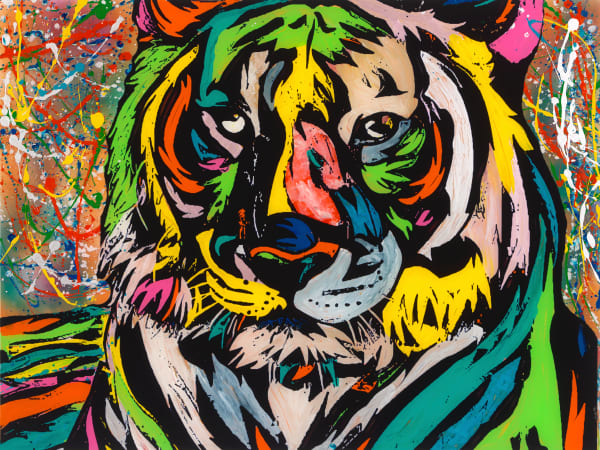 A Tiger At Heart | Animal Art | JD Shultz Art