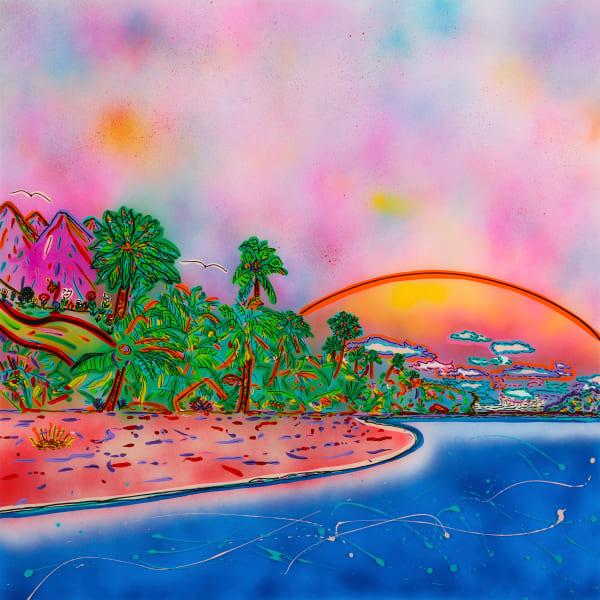 """Hideaway Island"" Art | JD Shultz Art"