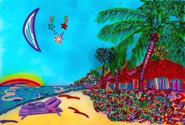 Serenity beach | Beach Art | JD Shultz Art