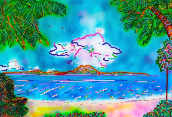 The Island View| Beach Art | JD Shultz Art