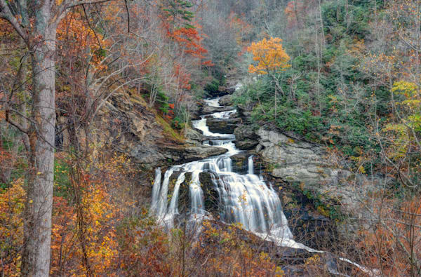 Cullasaja Falls Highlands, Nc Art | Drew Campbell Photography