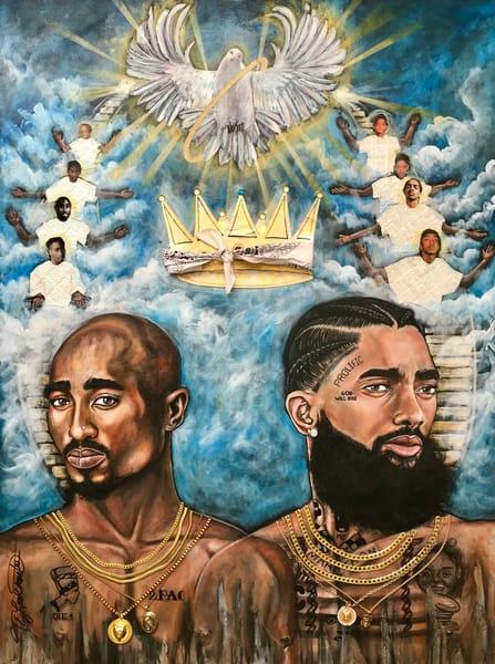 The Great Ascension Art   thomaselockhart