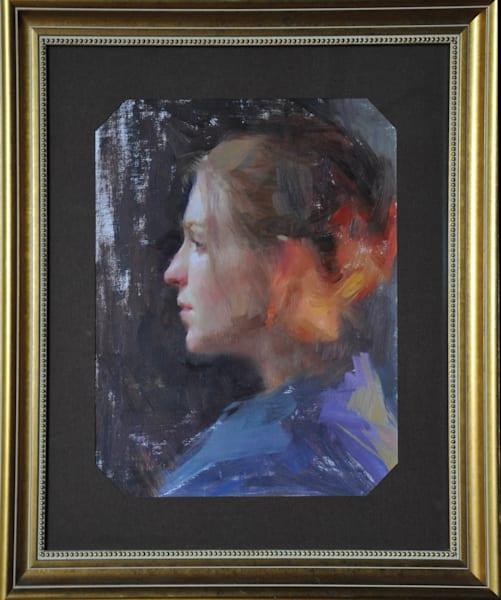 """Rebecca"" By Susan Lyon Art | Liliedahl Art"