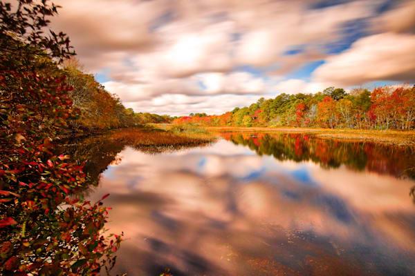 Peconic River Fall