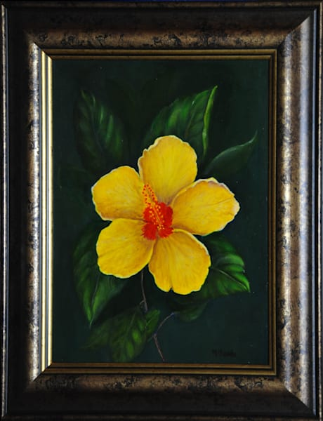 """Yellow Hibiscus"""