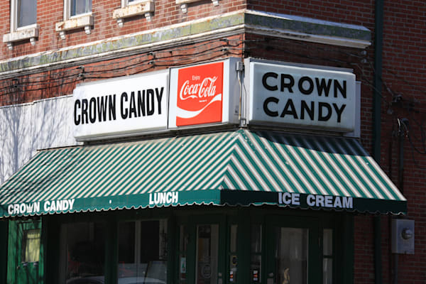 Crown Candy Kitchen in Old North St. Louis