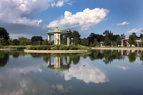 Pagoda Island at The Muny in Forest Park