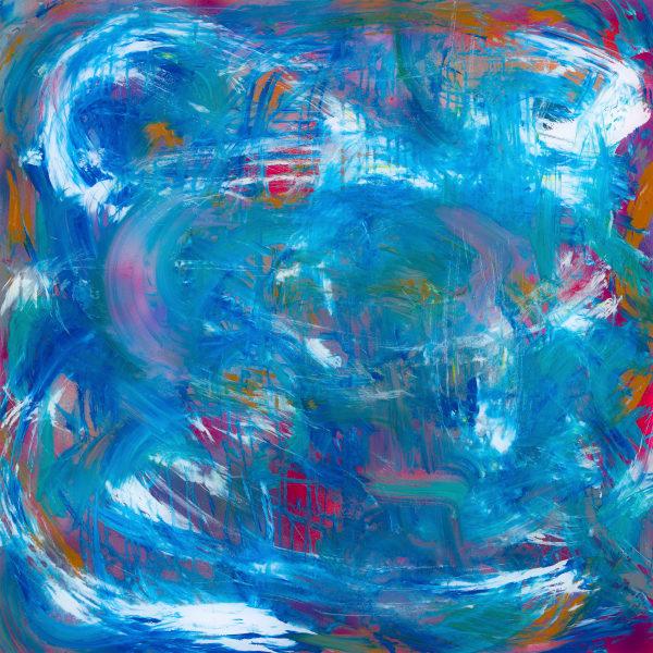 Watered Down   Abstract Art   JD Shultz Art