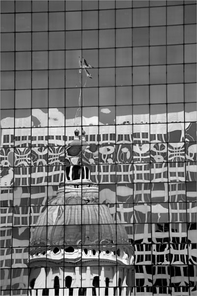 Reflection Of Historic Old Courthouse Art | Moore Design Group
