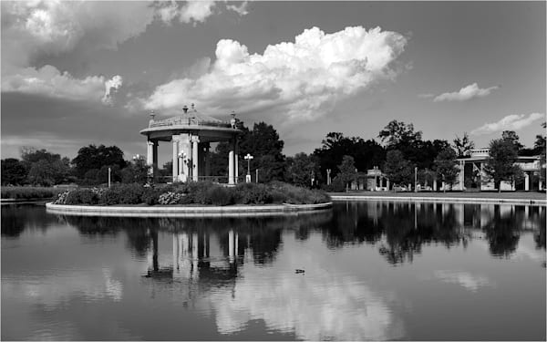 Pagoda Island At The Muny In Forest Park Art   Moore Design Group