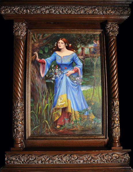 Ophelia by Johnnie Liliedahl, after John W. Waterhouse