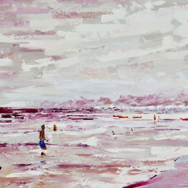 Alizarin Beach- FRAMED