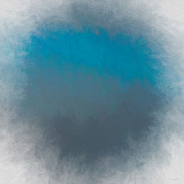 CLOUDS ABSTRACT, ABSTRACT, BLUE AND GRAY, FINE ART