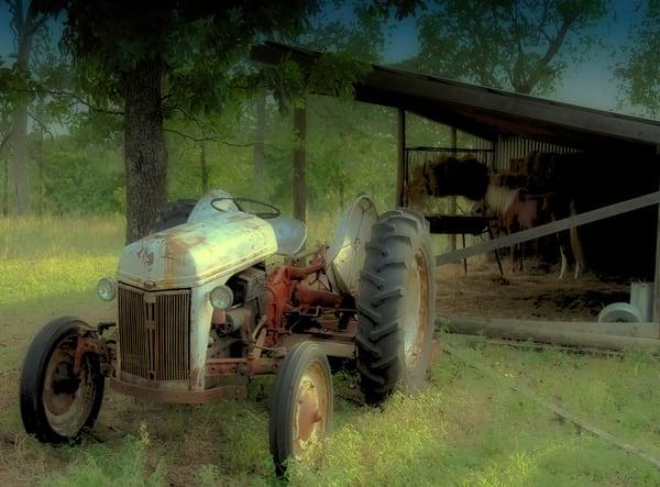 Workhorse Farm Tractor Scene