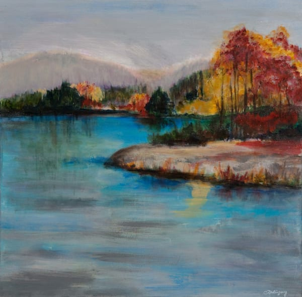 Hidden Lake  Sold Art | Connie Rodriguez Fine Art